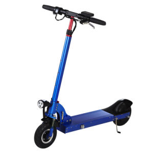 Super Light 10.4A Two Wheels Electric Folding Kick Scooter pictures & photos