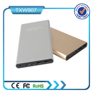 Best for Mobile 10000mAh Power Bank with Ios and Micro USB Input Ports pictures & photos