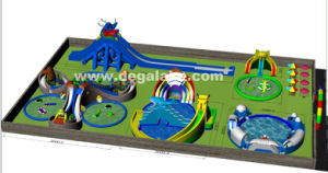 Customized Inflatable Water Park for Amusement Park