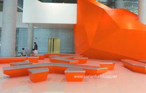 Corian Solid Surface Designer Furniture Public Bench pictures & photos