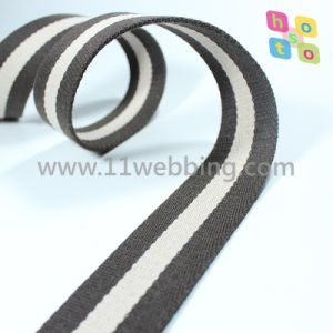 Factory Outlets Striped Cotton Webbing for Bag Accessories pictures & photos