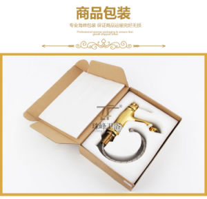 New Design Single Handle Zf-706 Jade Brass Bidet Faucet pictures & photos