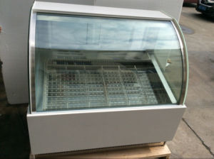Display Glass Door Freezer for Ice Cream (CE) (TK16-01) pictures & photos