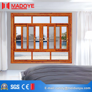 Professional Building Material Two Tracks Sliding Window with Net pictures & photos