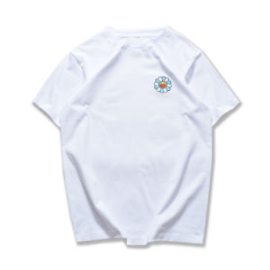 Customize High Quality Cotton Style Embroidery Man′s T Shirt of Round Neck