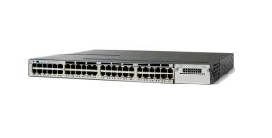New Cisco 48 Port Poe Gigabit Network Switch (WS-C3750X-48P-L) pictures & photos