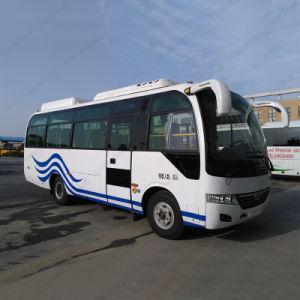20-28seats 6.6m Bus Front Engine Shuttle Bus/Labor Bus/Commuter Bus pictures & photos
