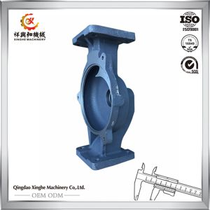 Customized Products Grey Iron Gg20 Concrete Pump Parts with Black Painting pictures & photos