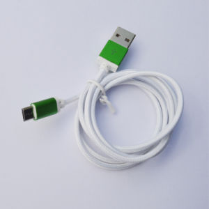 1m Nylon Insulated 8 Pin USB Cable for Android Mobile pictures & photos