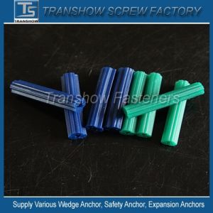 Made in China Plastic Ribbed Anchors Universal Long Plastic Wall Anchor pictures & photos