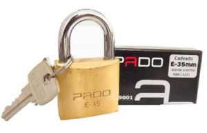 Brass Globe Brass Cylinder Padlock pictures & photos