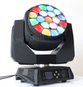 19*15W Big Bee Eye Moving Head Stage Beam Light pictures & photos