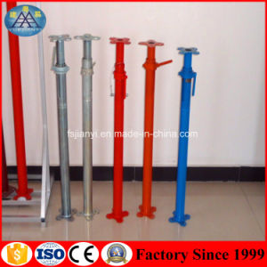 Scaffolding Frame Parts Galvanized Round Structure Adjustable Telescopic Steel Prop for Building Construction pictures & photos