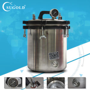 Portable Stainless Steel Pressure Sterilizer pictures & photos