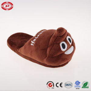 Brown Donkey Plush Soft Stuffed Cotton Slipper Shoe for Kids pictures & photos