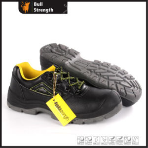 Industrial Leather Safety Shoes with PU/PU Sole (SN5484) pictures & photos