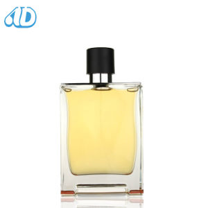 Ad-P307 Glass Square Perfume Bottle 100ml 50ml 25ml pictures & photos