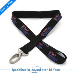 Flat Polyester Customized Mobile Lanyard pictures & photos