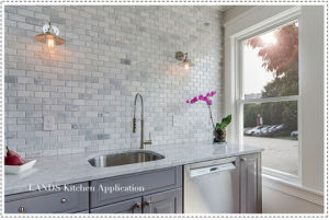 Building Material Carrara White Marble Mosaic Tile for Flooring (FYST201) pictures & photos