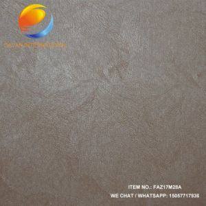 Good Quality Imitation Leather of Garment with Embossed Surface Faz17m28A pictures & photos