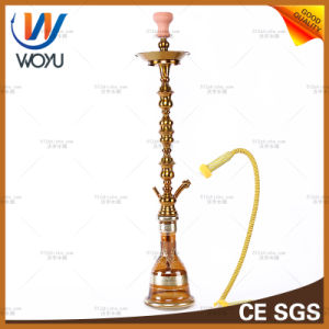 Stainless Steel Water Pipes by Hand High Pole Water Pipes of Yanju Shisha Tobacco Smoking Shisha Charcoal Device Is Yellow pictures & photos