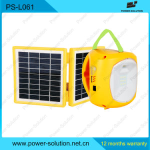 Solar Panel Light with 4500mA Rechargeable Battery pictures & photos