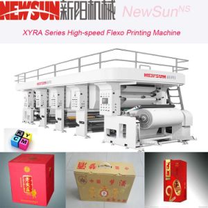 Xyra-1450 High-Speed Cigarette Package Flexo Line Printing Machine pictures & photos