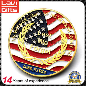High Quality Colorful Metal Souvenir Coin pictures & photos