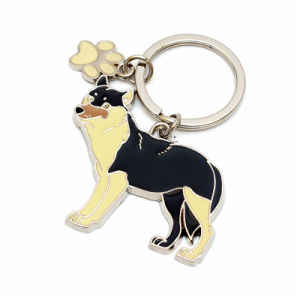 Custom Popular Animal Metal Souvenir Keychain pictures & photos