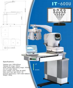 Best Seller It-600u Ophthalmic Unit / Refraction Table pictures & photos
