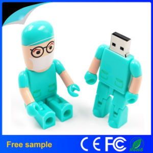 Wholesale Creative Doctor Robot Shape USB Pendrive