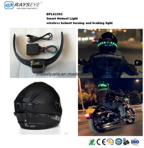 Smart Helmet Light Wireless Rechargeable Turning Braking Light pictures & photos