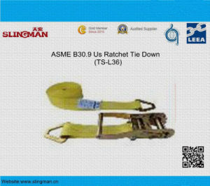 ASME B30.9 Us Ratchet Tie Down (TS-L36-04) pictures & photos