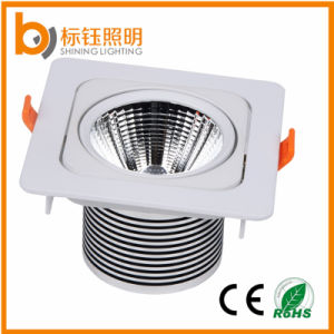 Ce & RoHS Recessed Indoor Lighting 15W Thin COB LED Downlight Aluminum pictures & photos