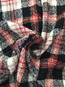 Ready/Stock Classical Check Wool Fabric Red, Black & White pictures & photos