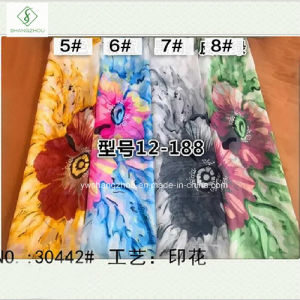 2017 New Design Chiffon Printed Lady Fashion Scarf Factory pictures & photos