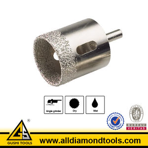 Vacuum Brazed Diamond Core Drill Bits for Tile and Glass pictures & photos