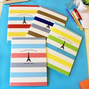 High Quality Stationery Custom-Made Softcover Notebook pictures & photos