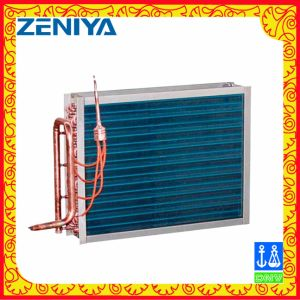 Low-Noise Copper Tube Copper Fin Condenser Coil for AC Outdoor Unit pictures & photos
