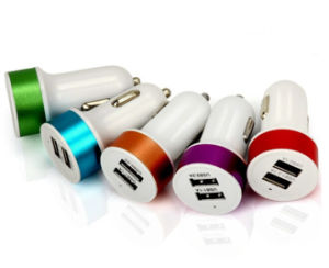 5V 2.1A Dual USB Car Charger Adapter for iPad iPhone  All Smart Phone pictures & photos