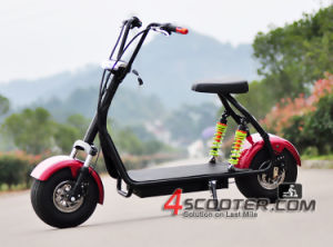 Hot Selling Harley Electric City Coco Scooter with Dual Front & Rear Shock Suspensions pictures & photos
