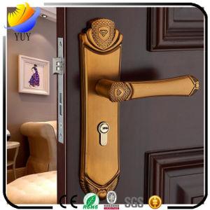 European Indoor Wood Door Hardware Lock Handle Door Lock pictures & photos