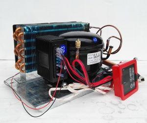 Purswave Bd45hc Compressor Condensing Units for Max 450liters Solar Refrigerator Freezer Fridge DC 12V24V48V Bldcm Compressor with Thermostate pictures & photos