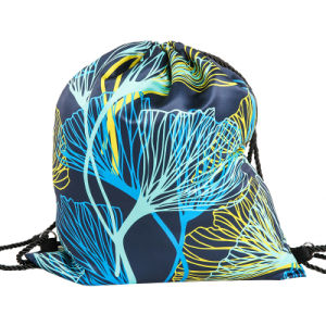Polyester 210t Drawstring Bag Backpack (YYDB049) pictures & photos