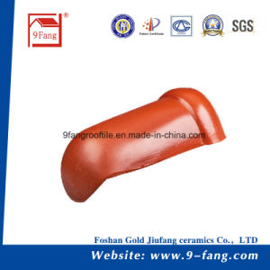 Chinese Villa Interlocking Roof Tiles Ceramic Roofing Tile Decoration Material pictures & photos