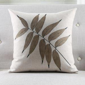 Tropical Cover Pillow Case Vintage Leaves Home Decorective Cushion pictures & photos