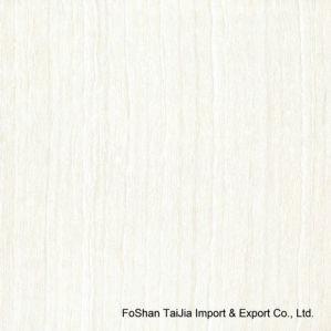 Building Material White Line Stone Polished Porcelain Floor Tile (TJ6301) pictures & photos