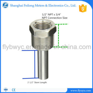 Stainless Thermowell for Thermocouple Rtd Bimetal Thermometer pictures & photos