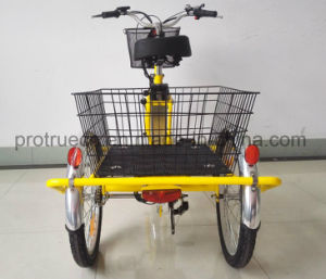 Three Wheel Electric Bike with Cargo pictures & photos