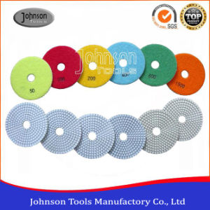 100mm Diamond White Wet Resin Polishing Pad pictures & photos